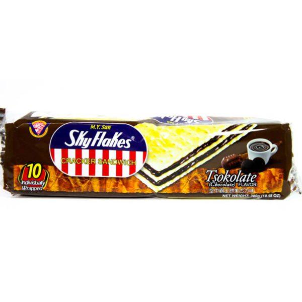 M.Y.SanSky Flakes Sandwich Chocolate