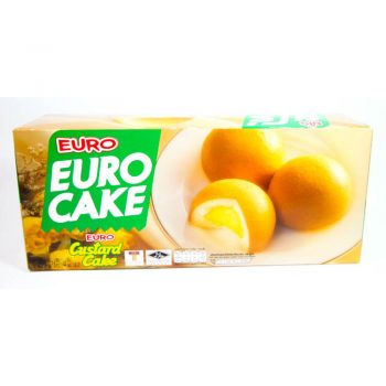 Euro Custard Cake 12P 204G