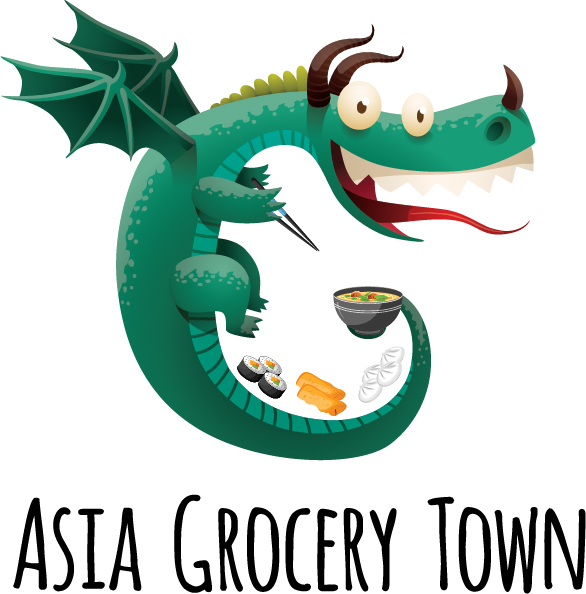 Asia Grocery Town Logo